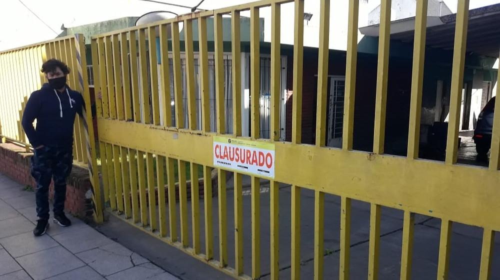 Clausuraron y labraron infracciones a comercios no escenciales que estaban abiertos
