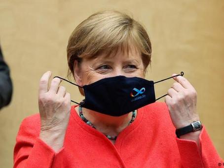 Récord de muertos en Alemania: Merkel pide medidas más estrictas contra el coronavirus