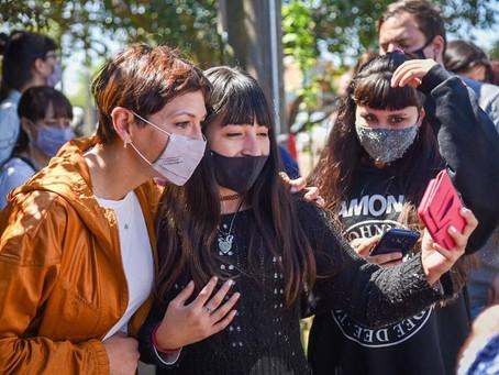"""Mayra: """"Los jóvenes de Quilmes tendrán ahora un lugar para poder desarrollar diferentes actividades"""""""