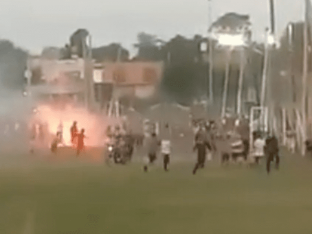 Berazategui: torneo de fútbol terminó en batalla campal, tiros, heridos y detenidos