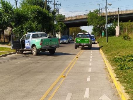 Berazategui: banda delictiva le robó el auto a un policía, se tirotearon y fueron detenidos