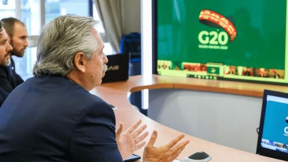 Ejemplar pedido del Presidente frente al G20: crear el Fondo de Emergencia Humanitaria
