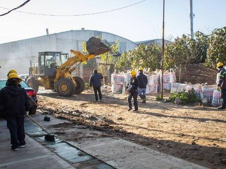 Avanza el Plan Integral de mejoras para el barrio KM 13 de Quilmes Oeste