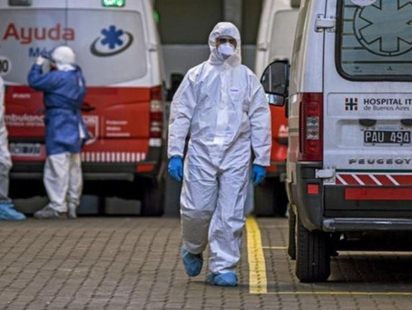 Coronavirus en Argentina: 264 muertos y 11.674 contagios en las últimas 24 horas