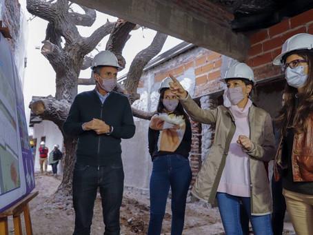 Mayra Mendoza y el ministro Katopodis analizaron obras conjuntas para Quilmes