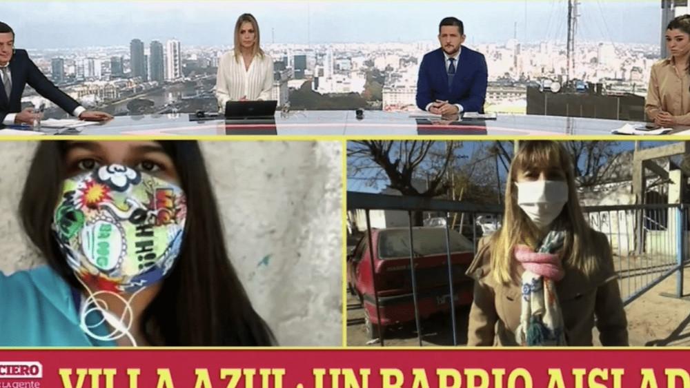 Vecinos de Villa Azul denuncian a una puntera de Martiniano Molina por mentir ante los medios