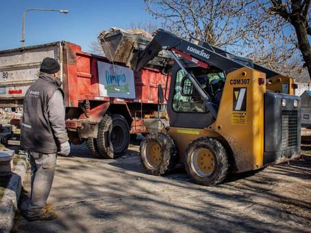 El Municipio de Quilmes avanza con la puesta en valor del cementerio municipal