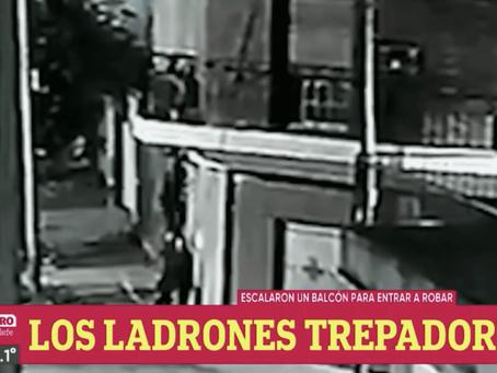 """Bernal: delincuentes treparon al balcón haciendo """"piecito"""" para robar pero vecino logró ahuyentarlos"""