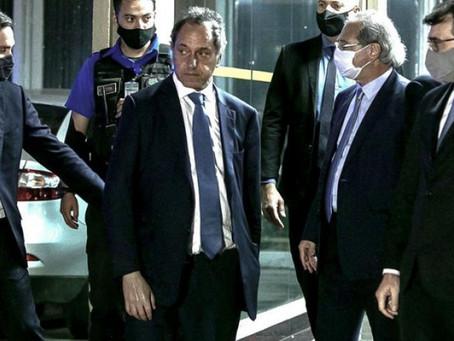 """Scioli, sobre el arancel externo del Mercosur: """"Es muy importante porque da previsibilidad"""""""