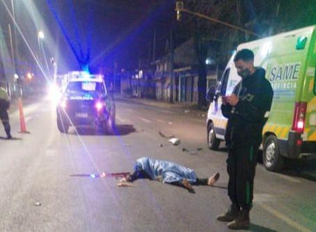 Solano: policía de la ciudad atropelló, mató y abandonó a la víctima