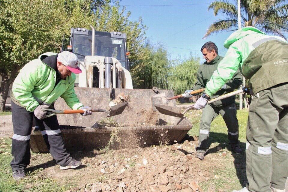 La intendenta de Quilmes supervisó nuevos operativos de limpieza en Solano
