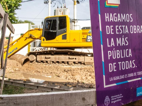 Avanza la obra de la red cloacal primaria para Villa Itatí
