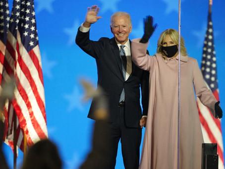 Biden es el nuevo presidente de los Estados Unidos tras ganar en Pensilvania