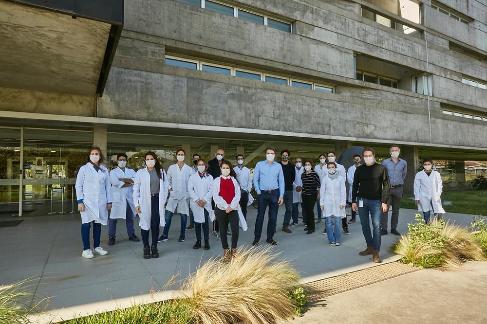Comenzó la producción del kit de detección de coronavirus desarrollado por científicos argentinos