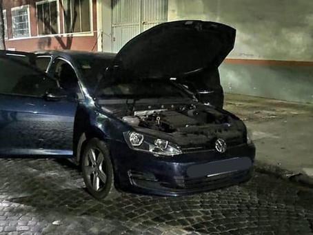 Hallaron quemado el auto de los delincuentes que acribillaron a policía en Ramos Mejía
