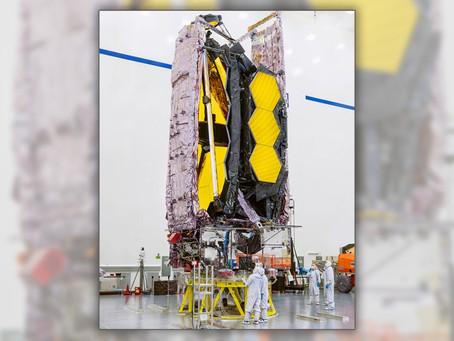 La NASA lanzará el próximo telescopio espacial en diciembre