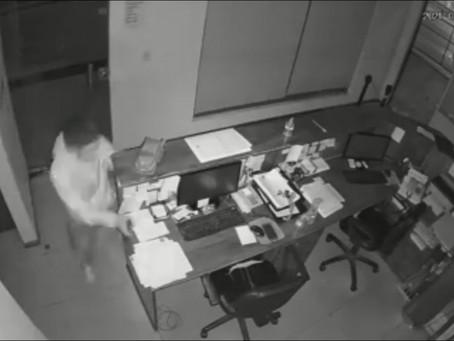 Rompieron el vidrio de una cristalería de Quilmes centro, robaron dinero y huyeron