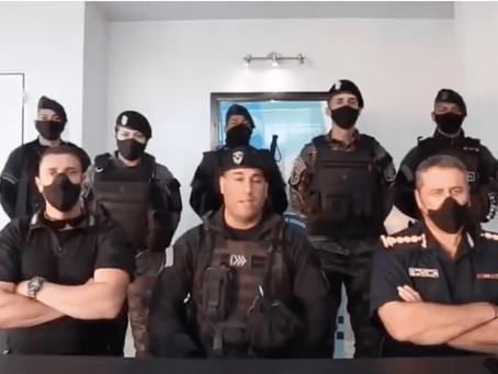 """La escena montada por Bullrich casi le cuesta el puesto a 6 oficiales: """"Fuimos utilizados"""""""