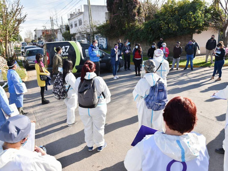 Coronavirus en Argentina: 419 muertes y 14.392 contagios en las últimas 24 horas