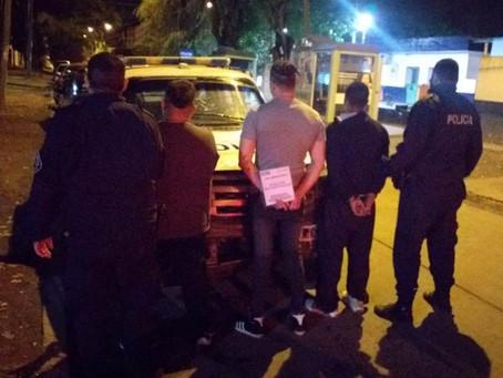 Berazategui: detuvieron a sujetos por presunta utilización de remises para comercializar drogas