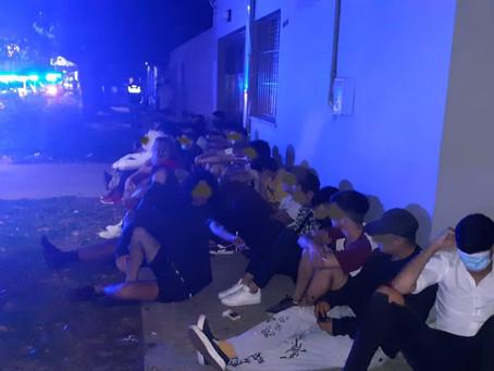 Quilmes: desbarataron fiestas clandestinas y clausuraron locales que no cumplian con las normativas