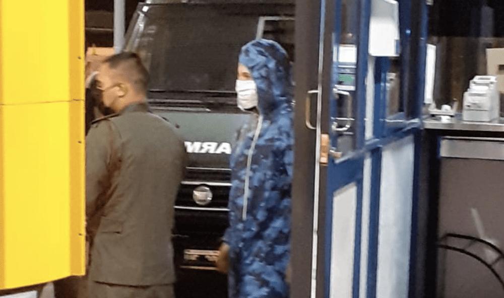 Ultimo momento: Alex Caniggia demorado por violar la cuarentena
