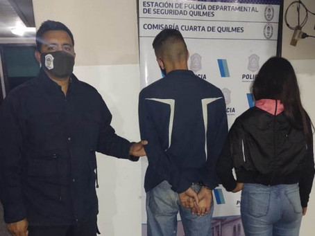 Solano: detuvieron a delincuentes juveniles que rompían autos para robar las pertenencias dentro