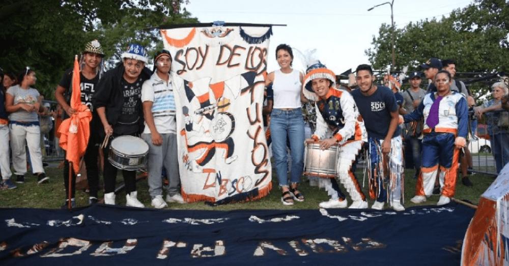 Mayra Mendoza en el Carnaval 2020