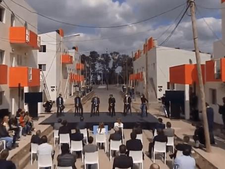 """""""Estas casas las hace el Estado, no el mercado"""", dijo Fernández al entregar viviendas en Avellaneda"""