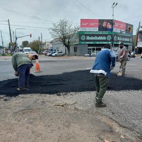 Continúan los trabajos diarios de mantenimiento del espacio público