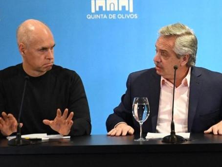 """El Presidente le pidió un """"gesto de honestidad intelectual"""" a Rodríguez Larreta"""