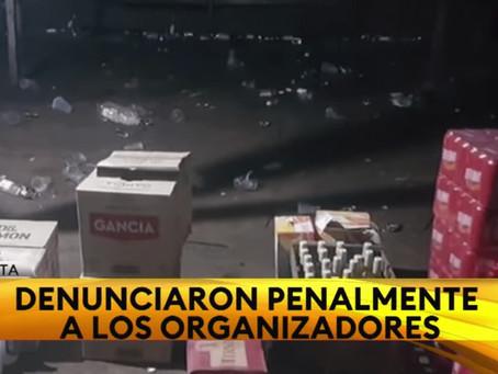 """""""De terror"""": desarticulan dos fiestas clandestinas con más de 500 personas por Halloween en La Plata"""