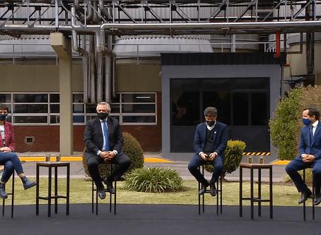 """Fernández, Kicillof y Mendoza anuncian la vuelta del """"Ahora 12"""" y """"Ahora 18"""" con 3 meses de gracia"""