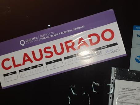 El Municipio de Quilmes desactivó tres fiestas clandestinas