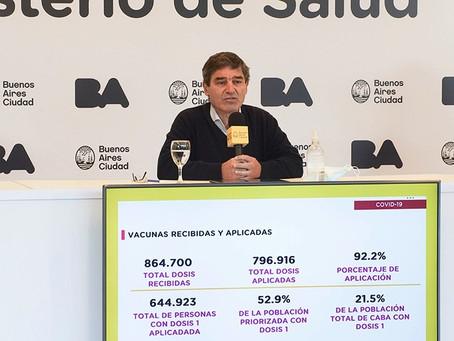 """Quirós llamó a """"disminuir los viajes internacionales"""" para evitar el ingreso de la variante Delta"""