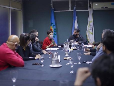 Mayra encabezó un encuentro con los integrantes de la comisión de festejos de Solano