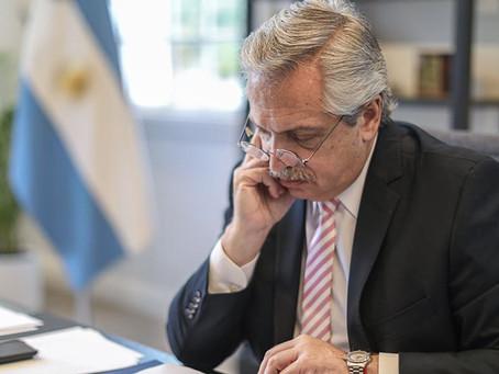 """Alberto Fernández: """"Hemos decidido confirmar el compromiso de nuestro país con la agenda climática"""""""