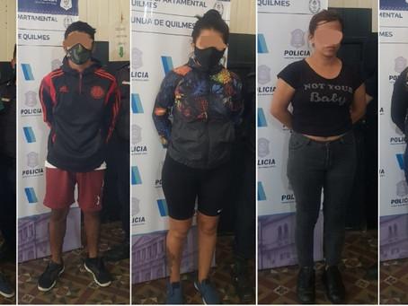Bernal: cinco detenidos tras intento de usurpación en una casa