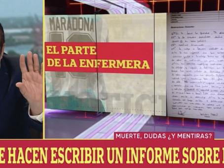 Caso Maradona: dudas sobre las declaraciones de los testigos, ¿obligaron a mentir a la enfermera?