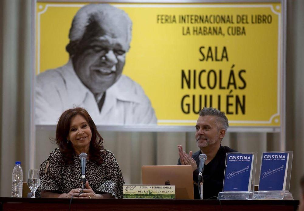 Cristina criticó al FMI desde cuba
