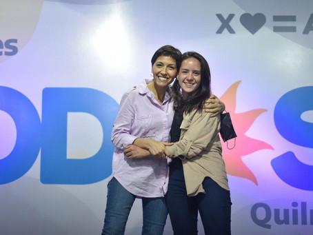 """Mayra Mendoza: """"Ceci Soler fue la candidata más votada"""""""