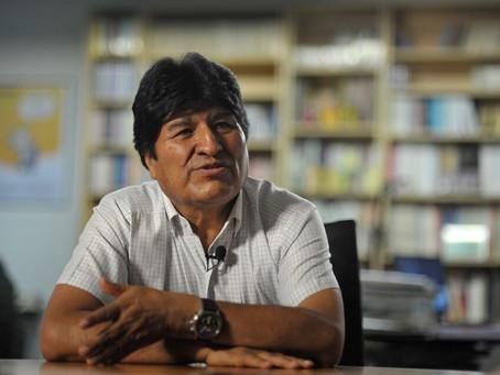 """Evo Morales: """"Macri debe ser procesado"""""""
