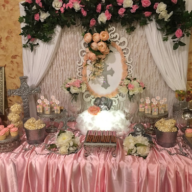 Aristic Celebrant candy table