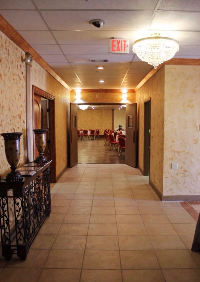Aristic Event Center Hallway