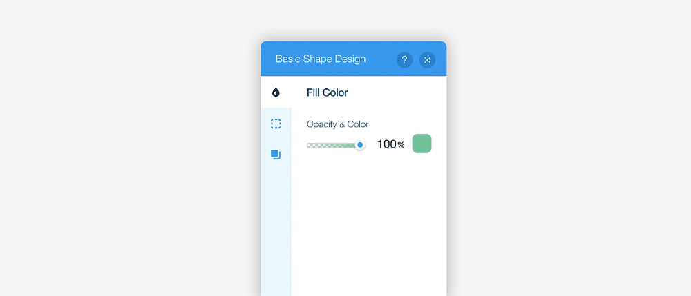 ux writing example of changing text in image settings