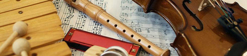 обучение игре на музыкальных инструментах