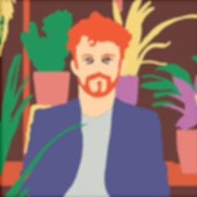 Self Portrait Illustration