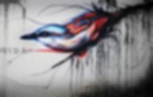 streetart bird