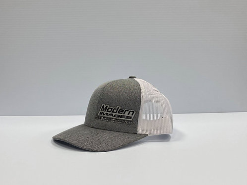 Gray/White Snapback