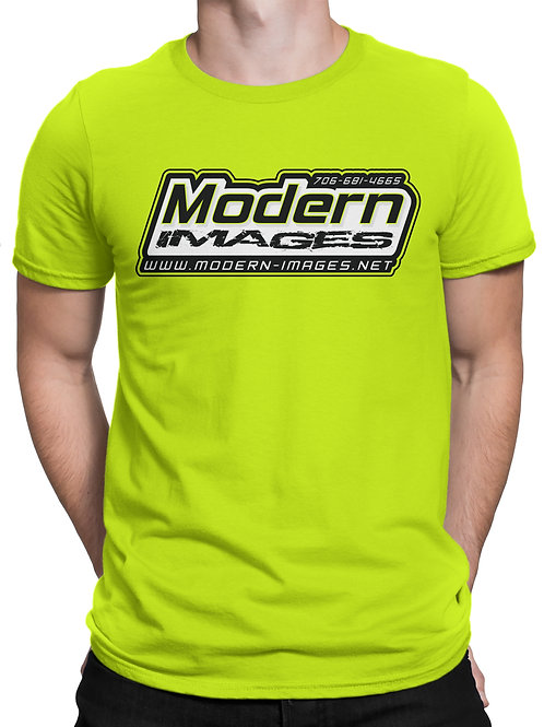 Neon Yellow Tattered Tee
